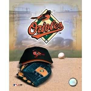 Baltimore Orioles   05 Logo / Cap and Glove Finest