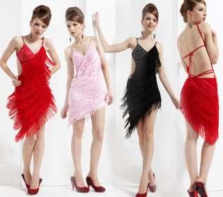 Lady Ballroom ChaCha Latin Dance Dress IM2012 Size US 4 6 8