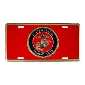 United States Marine Corps License Plate (USMC