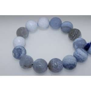 Day Gift Jewelry Unique Blue Agate Bracelet Arts, Crafts & Sewing