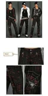 30% SALE Unisex Punk Definition Rock Goth Scratch Pants