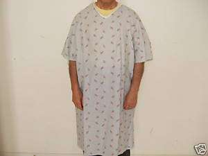 Patient Gown Lab Medical Hospital Uniform New Lot of 12