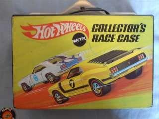 1969 Hot Wheels Collector Case + 5 Redline Cars