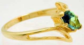 NATURAL 1.35 carats RUSSIAN ALEXANDRITE RING 14K GOLD