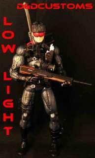 CUSTOM GI JOE ULTIMATE SOLDIER SNIPER LOW LIGHT DRAGON