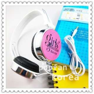 SNSD girls Generation KPOP PINK EARPHONES HEADPHONES TYPE C NEW