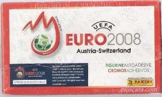 2008 PANINI UEFA EURO STICKER BOX (100 COUNT)