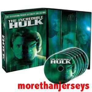 NEW INCREDIBLE HULK TV SERIES COLLECTION DVD BOX SET