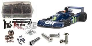 Tamiya P34 Tyrell Six Stainless Steel Screw kit tam009