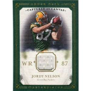 Captured on Canvas Jerseys #CC40 Jordy Nelson: Sports Collectibles