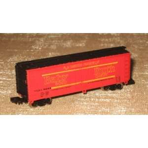 BACHMANN   N SCALE   41 WOOD REEFER BABY RUTH #5184: Everything Else
