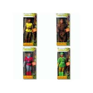 Merry Men Robin Hood Complete Set of 4 Action Figures: Toys & Games