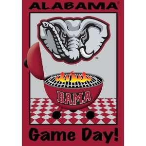 Alabama Crimson Tide Bama Game Day Tailgating Flag