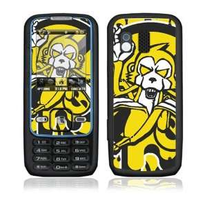 Monkey Banana Decorative Skin Cover Decal Sticker for Samsung Rant SPH