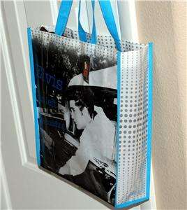 ELVIS PRESLEY King Rock and Roll GIFT SHOPPING TOTE BAG