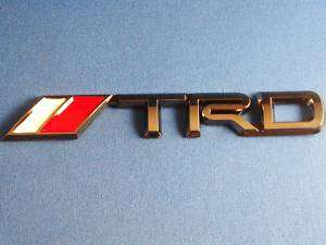 TRD Black Chrome Emblem xB tC Supra Tundra Tacoma MR2