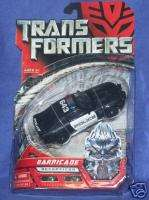 Transformers Movie Deluxe BARRICADE Police Car Mustang
