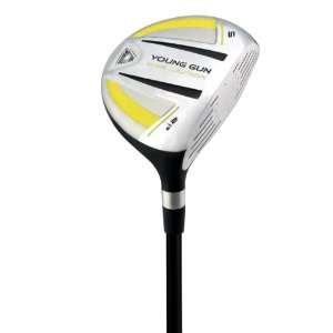 Young Gun SGS Junior Golf Club 5 Wood Right Hand Yellow