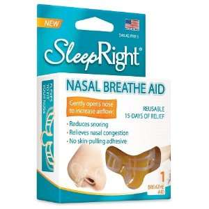 (1) SleepRight Nasal Breathe Aid Nasal Strip Alternative