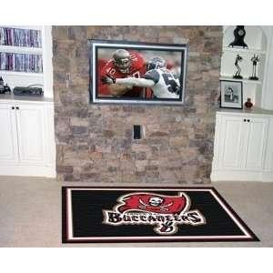 Tampa Bay Bucs Buccaneers 4X6 ft Area Rug Floor/Door