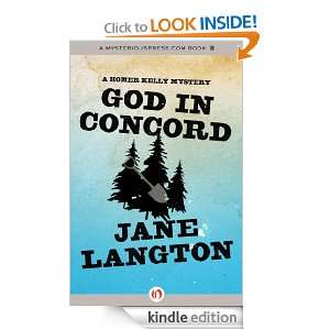 Concord A Homer Kelly Mystery Jane Langton  Kindle Store