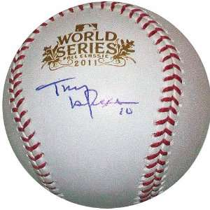 St. Louis Cardinals Tony LaRussa Autographed 2011 World