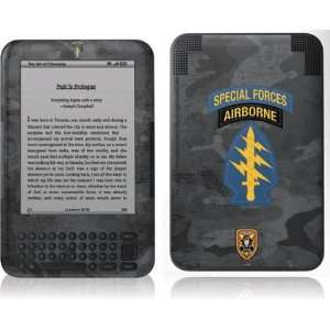 Special Forces Airborne skin for  Kindle 3