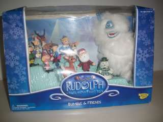 COLLECTIBLE FIGURES, 12, RUDOLPH AND THE ISLAND OF MISFIT TOYS BUMBLE