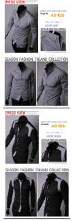 B07 52 Mens Casual Slim Long Sleeves Shirt / 3Color
