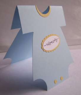 Stampin Up handmade greeting card Baby Boy PY LOT