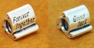 Bead 4 European Bracelet FOREVER TOGETHER / GOOD LUCK CHARM