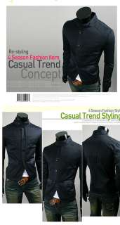 NWT Mens Slim Sexy TOP Design Buttons Casual Suit Fashion Blazer Coat