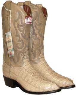 MENS TONY LAMA ALLIGATOR COWBOY BOOTS 8 D NEW $580