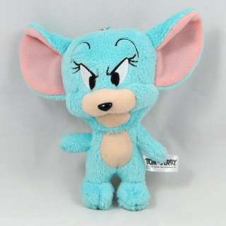 Tom & Jerry Cat Mouse Plush Stuffed Doll Keychain Charm Japan A 11cm 4