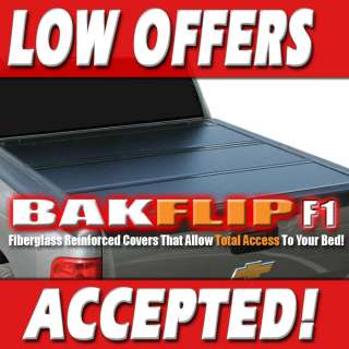 F1 Hard Folding Tonneau Bed Cover 08 12 Ford F150 SB 5.5 foot 72309