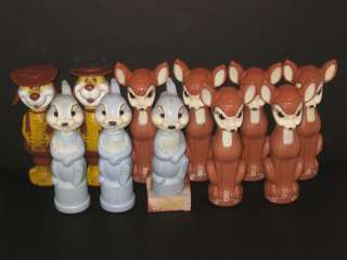 40. Bambi, Thumper, Deputy Dawg Soaky Group (11) 1960's