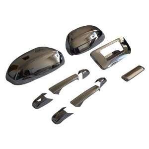 GMC Sierra Regular / Extended Cab Chrome Door Handle Tailgate Mirror