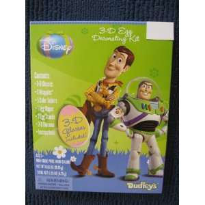 Toy Story 3 D Easter Egg Decorating Kit