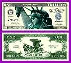 00 TRILLION DOLLAR PLAY NOVELTY DOLLAR BILL
