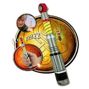 Doctor Who Exclusive Third Doctor Sonic Screwdriver Toys