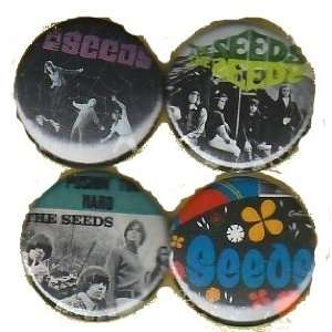 The Seeds Pushing Too Hard Buttons Pins Badges Everything