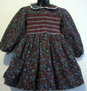 LORD & TAYLOR ♥ BEAUTIFUL YOUNG PEOPLES SHOP Smocked Dress 4 4T