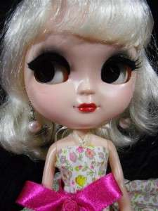 OOAK Big Head 12 Icy Doll Completed Custom face Blythe Simply