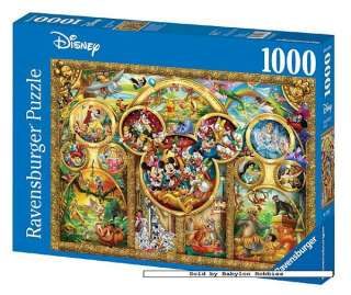 NEW Ravensburger jigsaw puzzle 1000 pcs The Best Disney Themes 152667