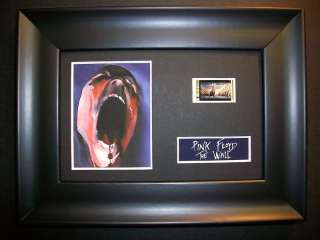 PINK FLOYD The Wall Framed Movie Film Cell Memorabilia