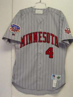 1997 Paul Molitor Game Used Grey Road Jersey Signed Minnesota Twins