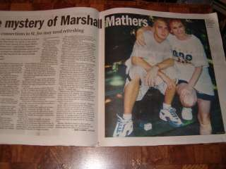 EMINEM Marshall Mathers Magazine ****PLEASE ALLOW SCAN(S) TO LOAD