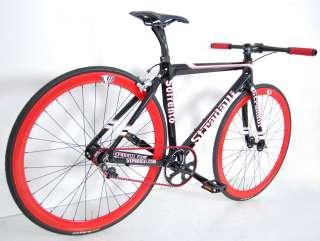 SORRENTO FULL CARBON SINGLE SPEED FIXIE BIKE BICYCLE TRACK 52 cm