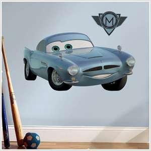 Disney Cars 2 Finn McMissile BiG Wall Decal Room Decor Kids Vinyl