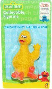 Sesame Street Big Bird Cake Topper Figurine Toy Favor